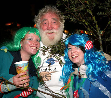 David Bellamy at Bestival