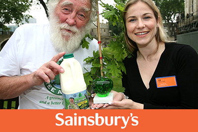 Sainsbury's and White & Wild Milk
